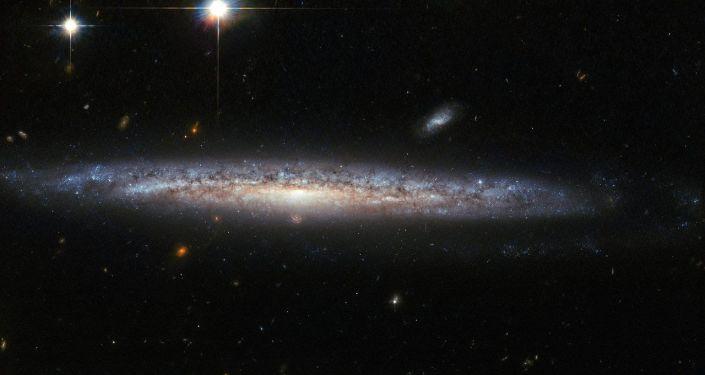 Spirálovitá galaxie NGC 5714