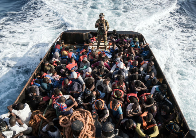 Nelegální migranti (ilustrační foto)