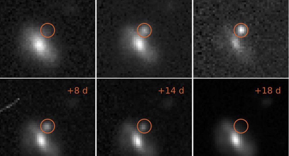 Astronomové zaznamenali tajemné kosmické výbuchy