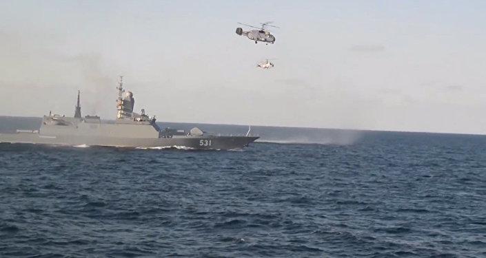 Baltské loďstvo zahájilo cvičení