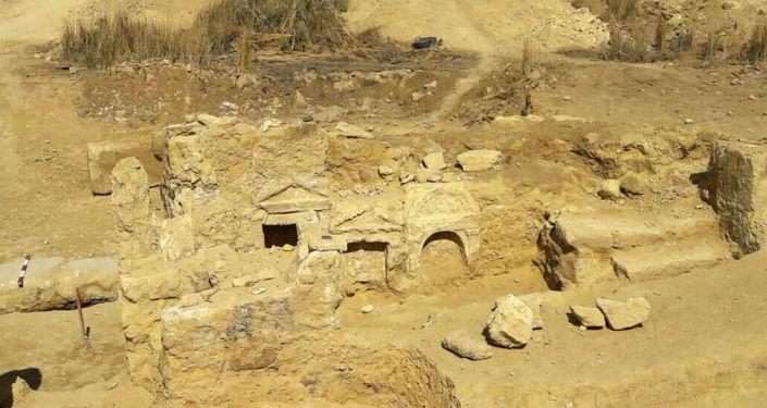 Archeologické vykopávky v Západní poušti Egypta