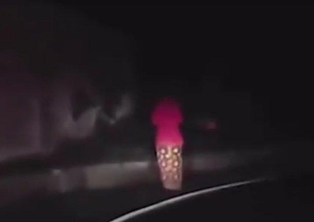 Malajec natočil přízrak, který ho pronásledoval
