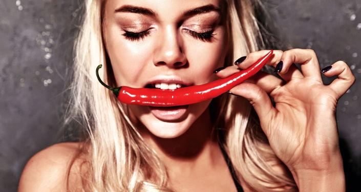 Dívka s papričkou