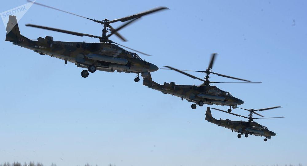 Vrtulník Ka-52 Alligator
