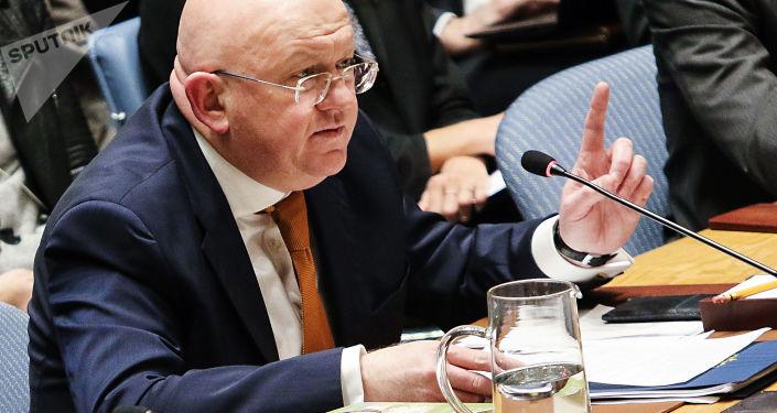 Stálý zástupce RF při OSN Vasilij Nebenzja