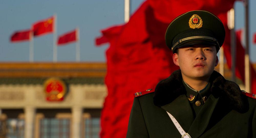 Policista v Pekingu