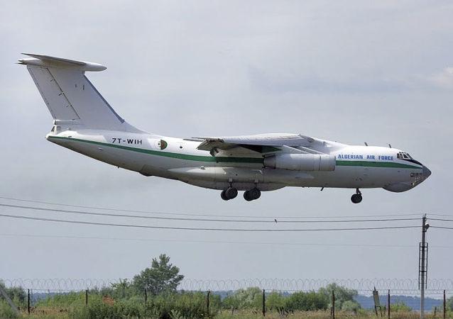 Alžírské letadlo Il-78