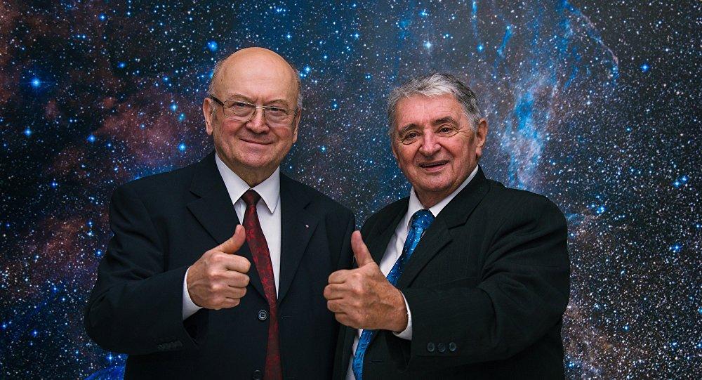 Oldřich Pelčák s Vladimírem Remkem