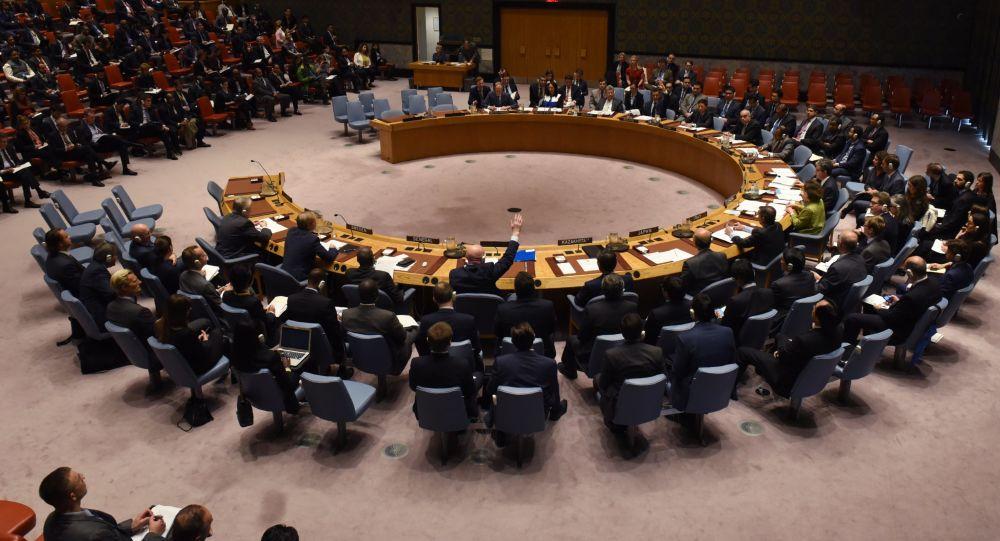 Zasedání11. dubna v Radě bezpečnosti OSN