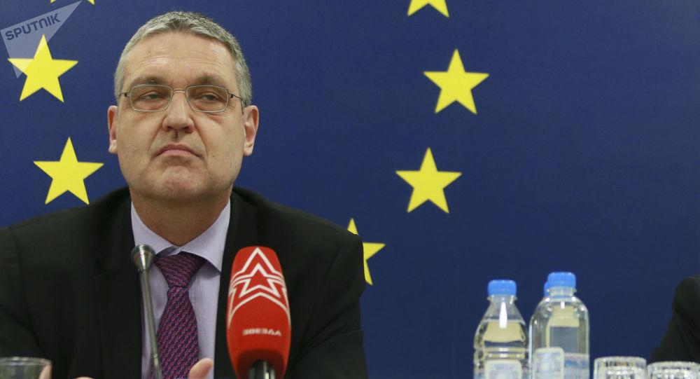Velvyslanec Evropské unie Markus Ederer