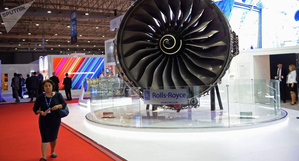 Letadlový motor Rolls-Royce