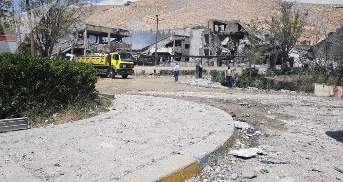 Sýrie po útoku