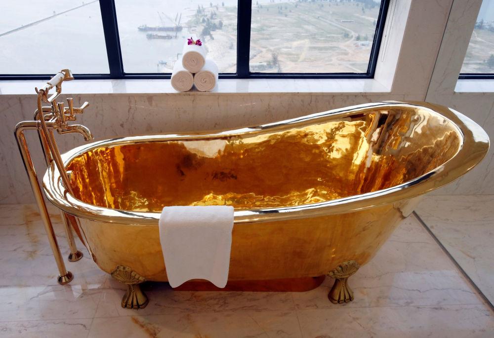 Zlatý sen: podívejte se na pohádkový hotel ve Vietnamu