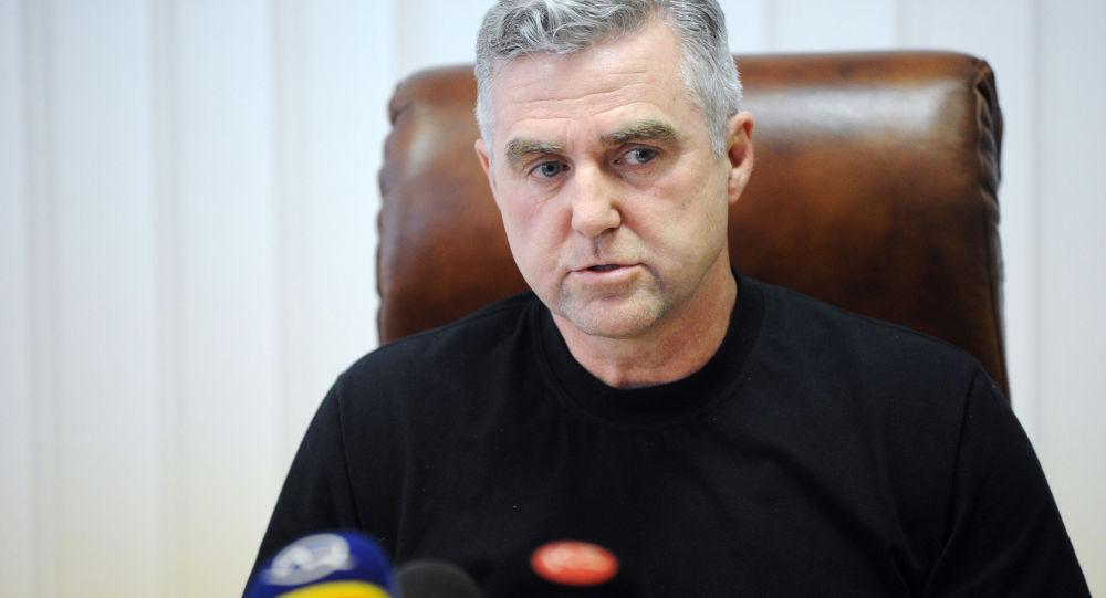 Slovenský policejní prezident Tibor Gašpar