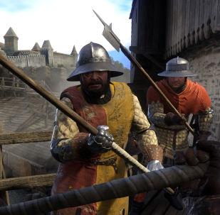 Záběr z počítačové hry Kingdom Come: Deliverance