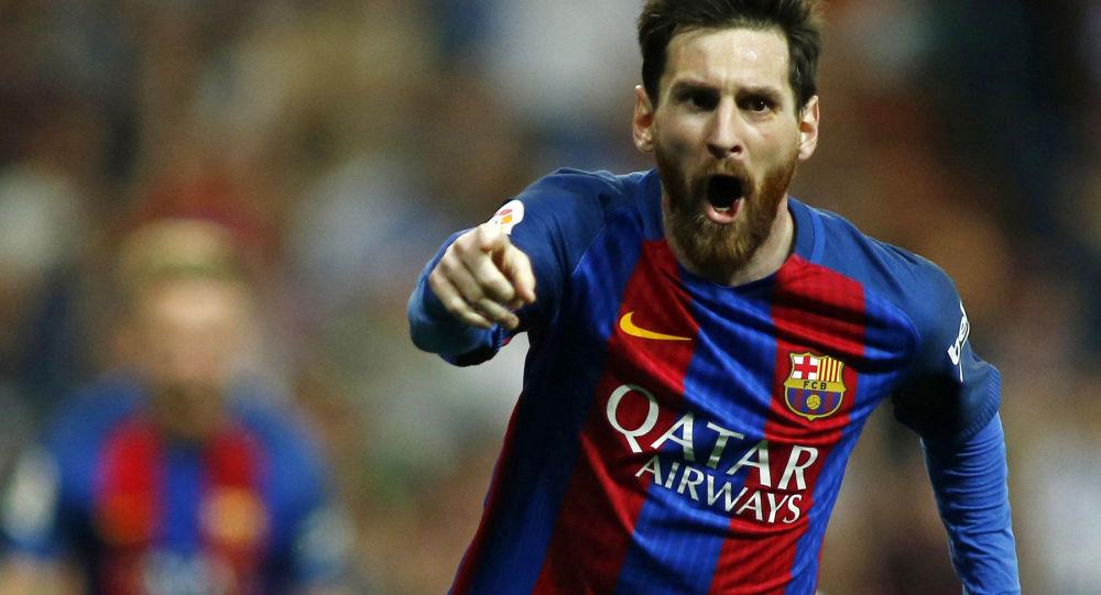Hráč Barcelony Lionel Messi