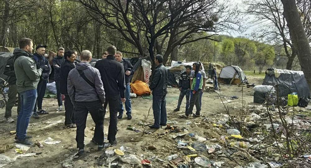 Na Ukrajině byly zahájeny zátahy na Romy