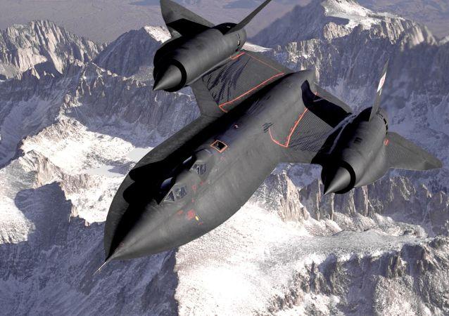 Americké nadzvukové výzvědné letadlo Lockheed SR-71 Blackbird