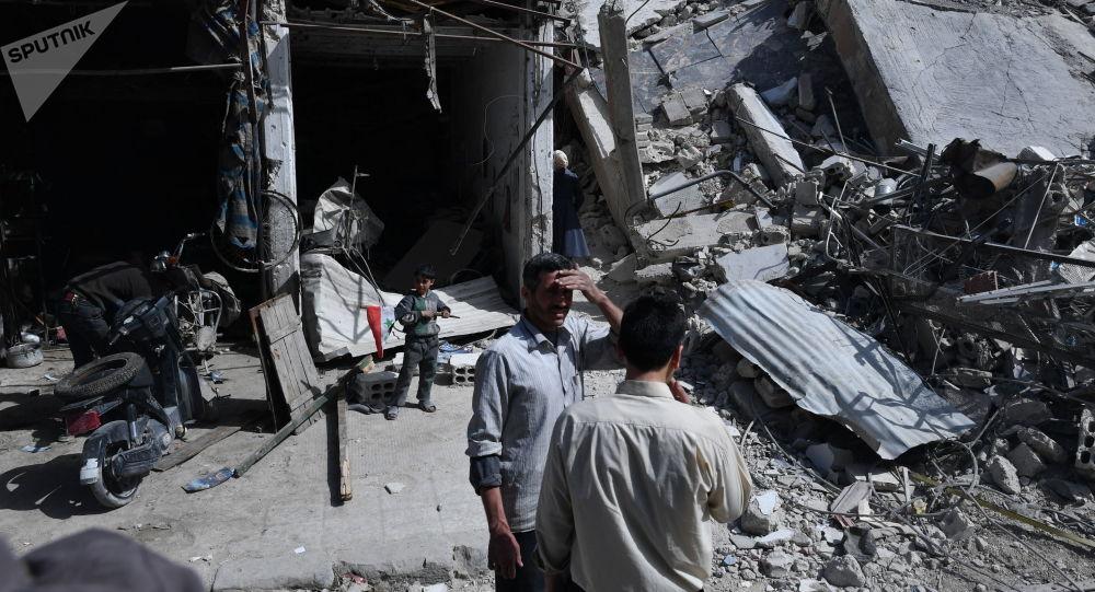 Dúma, předměstí Damašku