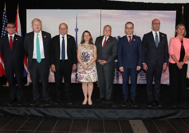 Ministři zahraničí zemí G7 na schůzce v Torontu