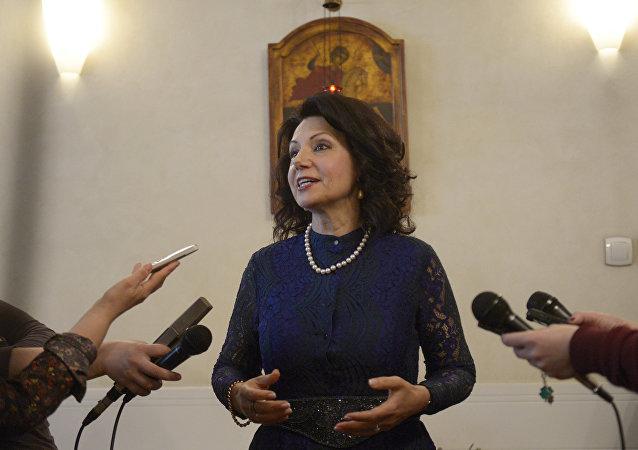 Poslankyně srbského parlamentu, bývalá velvyslankyně Srbska v Itálii, Sanda Raškovičové-Ivičová
