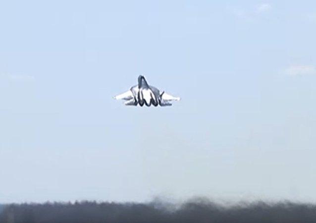 Byla natočena příprava Su-57 na přehlídku vítězství