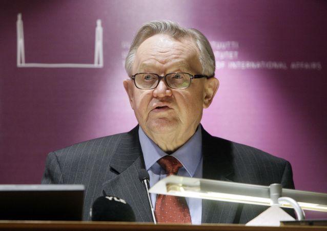 Martti Ahtisaari, bývalý prezident Finska