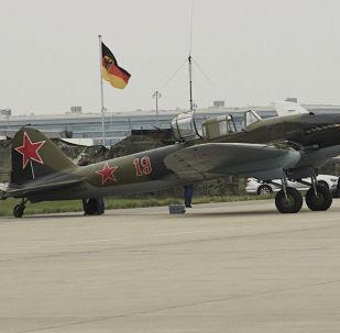 Sovětský letoun Il-2