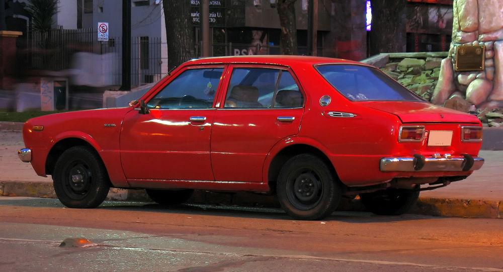 Toyota Corolla z roku 1978. Ilustrační foto