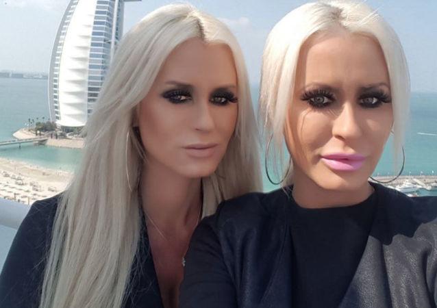 Alena a Saša Parkerové Dubaj