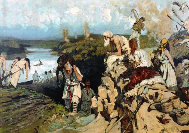 Obydlí východních Slovanů, Sergej Ivanov