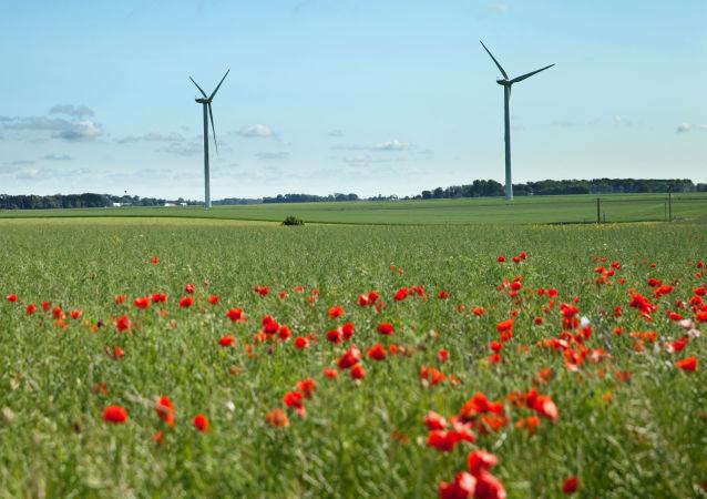 Větrné mlýny ve Francii