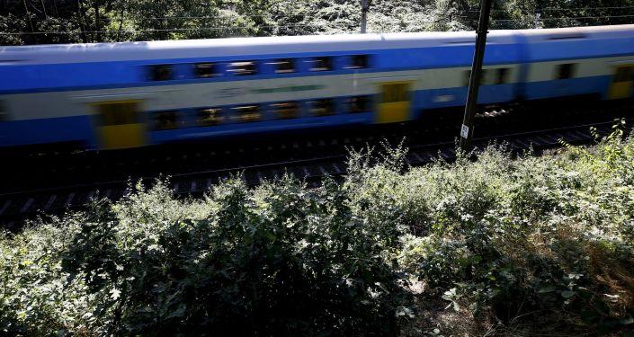 Vlak v Polsku