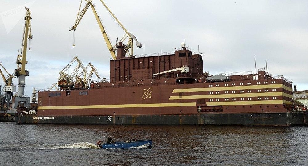 Plovoucí jaderná elektrárna Akademik Lomonosov