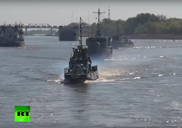 """Kaspická flotila připlula na """"procházku po Donu"""