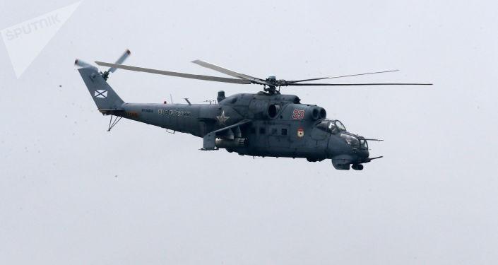 vrtulníky Mi-24