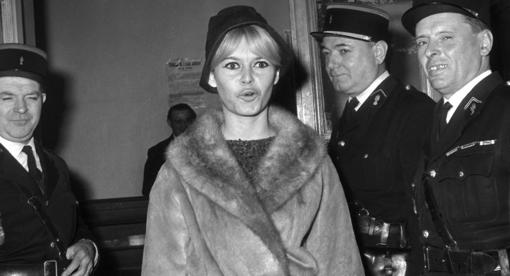 Francouzská herečka Brigitte Bardotová