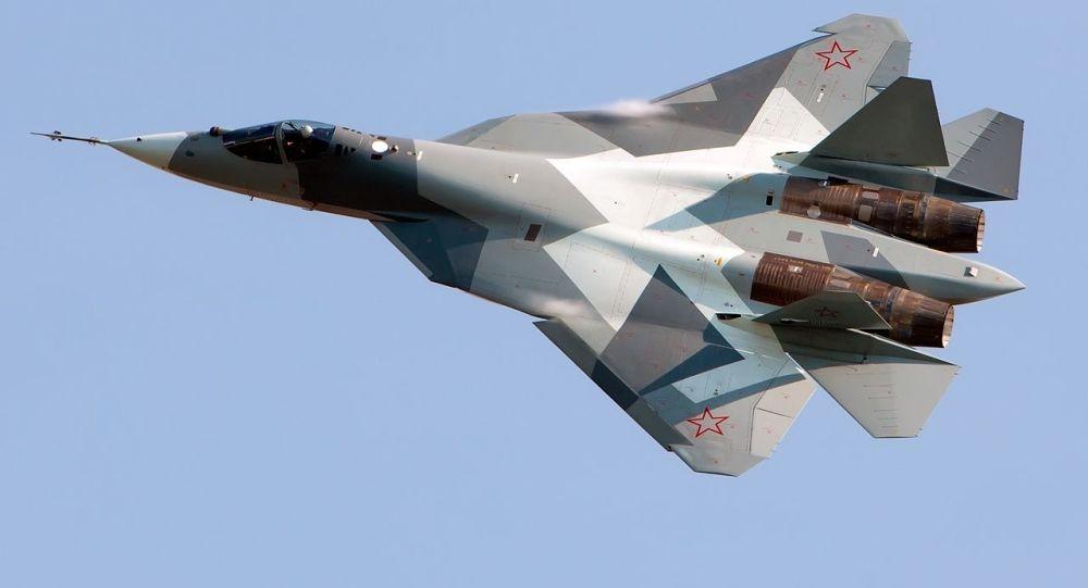 Ruský stíhací letoun Su-57