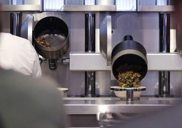 Robotizovaná restaurace v Bostonu