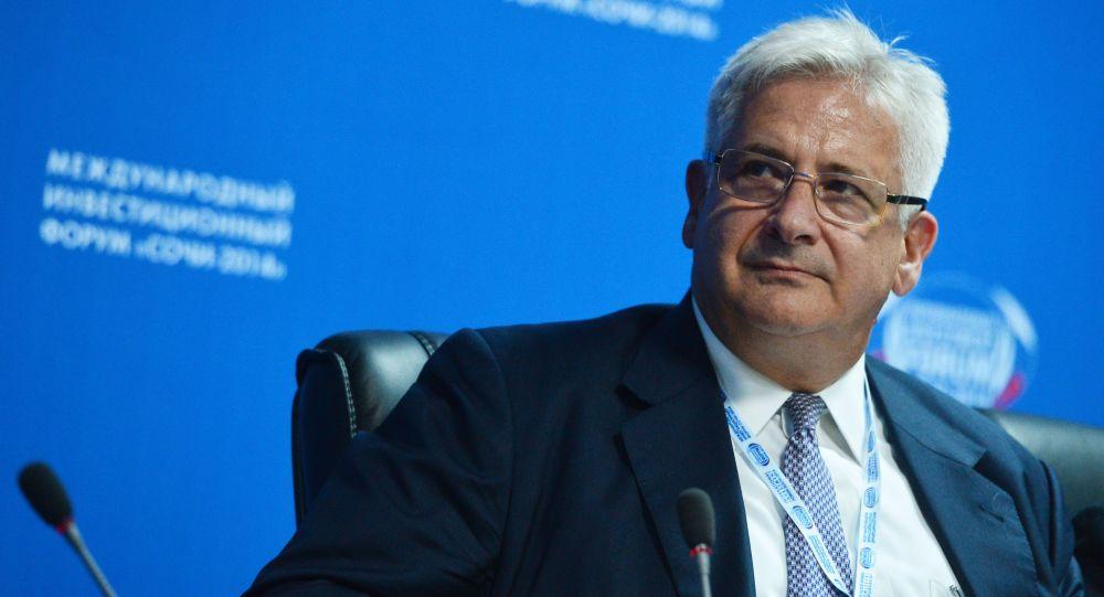 Prezident Americké obchodní komory v Rusku (AmCham) Alexis Rodzjanko