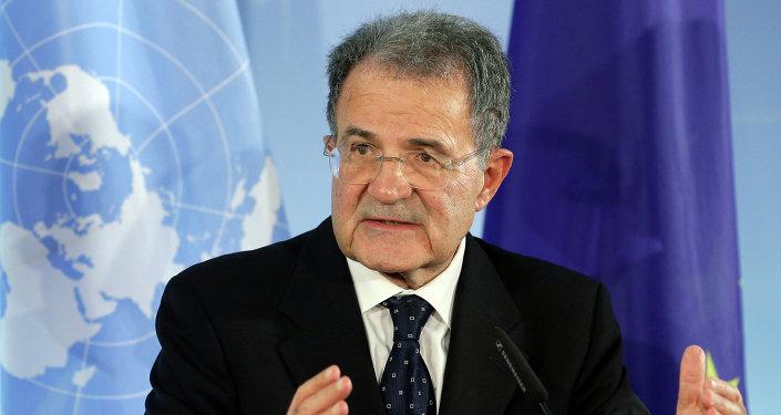 Bývalý předseda Evropské komise a bývalý premiér Itálie Romano Prodi