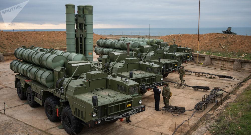 S-400 na Krymu. Ilustrační foto