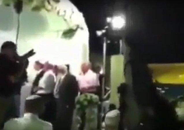 Syrská raketa rozehnala svatbu v Izraeli