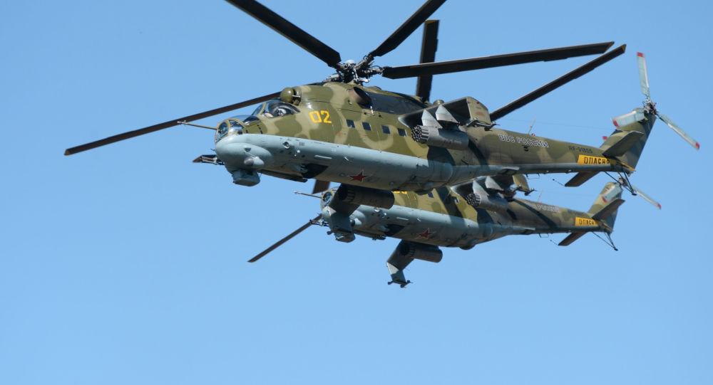 Ruské vrtulníky Mi-24