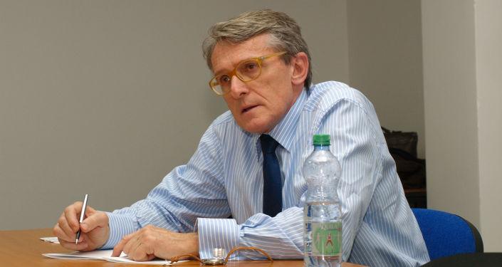 Politolog a analytik Petr Robejšek