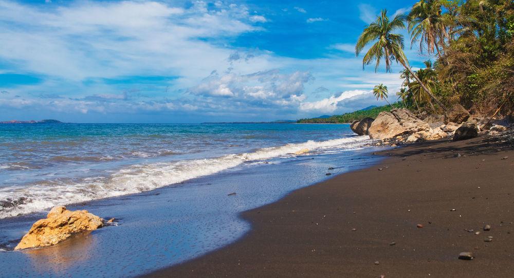 Pláž na Filipínách