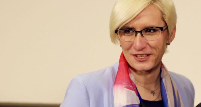 Ministryně obrany v demisi Karla Šlechtová