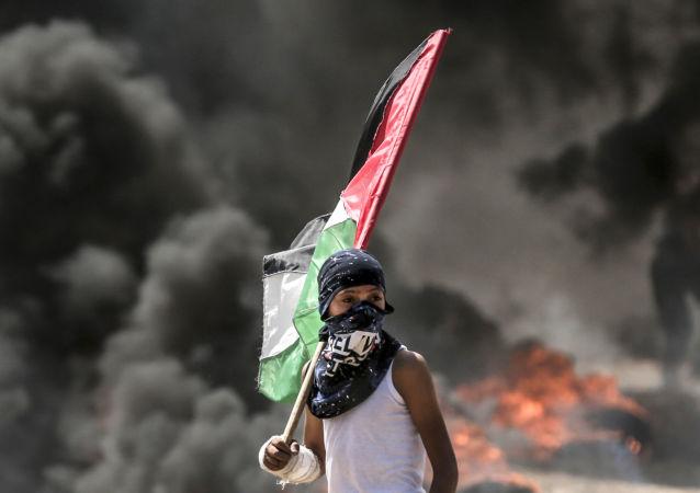 Střet mezi Palestinci a Izraelci