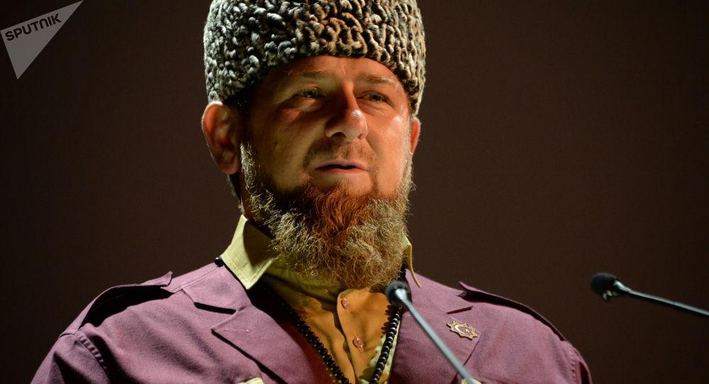 Vedoucí představitel Čečenska Ramzan Kadyrov