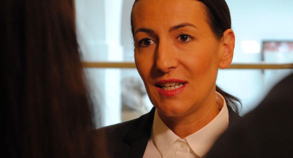 Česká politička Alexandra Udženija